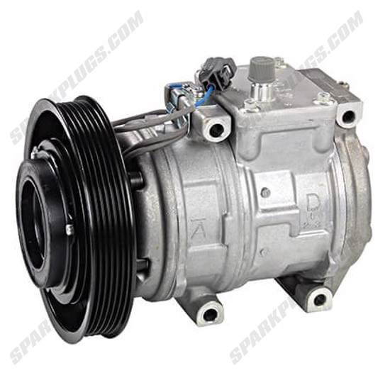 Picture of Denso 471-1190 New A/C Compressor with Clutch