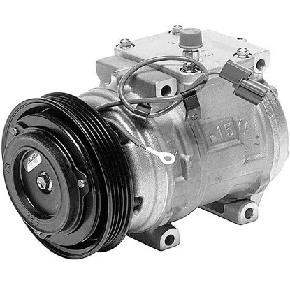 Picture of Denso 471-1194 New A/C Compressor with Clutch