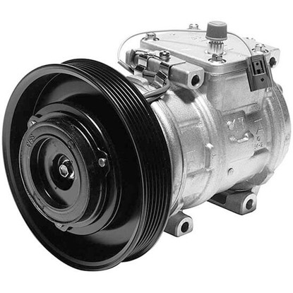 Picture of Denso 471-1198 New A/C Compressor with Clutch