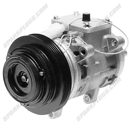 Picture of Denso 471-1201 New A/C Compressor with Clutch