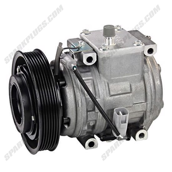 Picture of Denso 471-1202 New A/C Compressor with Clutch