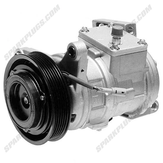 Picture of Denso 471-1214 New A/C Compressor with Clutch