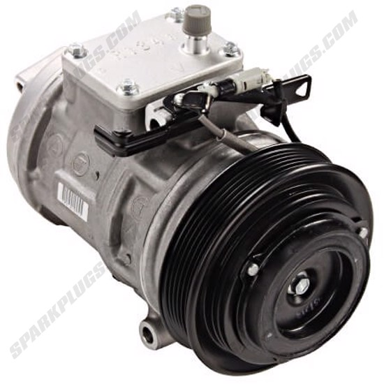 Picture of Denso 471-1215 New A/C Compressor with Clutch