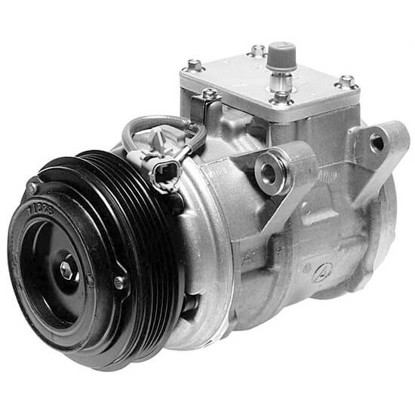 Picture of Denso 471-1216 New A/C Compressor with Clutch