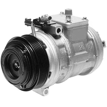 Picture of Denso 471-1219 New A/C Compressor with Clutch
