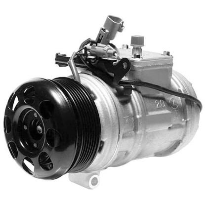 Picture of Denso 471-1220 New A/C Compressor with Clutch