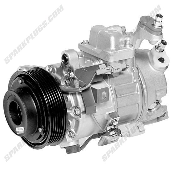 Picture of Denso 471-1221 New A/C Compressor with Clutch