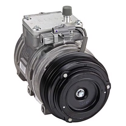 Picture of Denso 471-1222 New A/C Compressor with Clutch