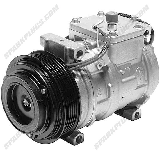 Picture of Denso 471-1224 New A/C Compressor with Clutch