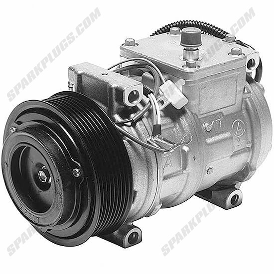 Picture of Denso 471-1226 New A/C Compressor with Clutch