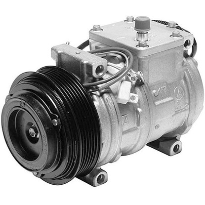 Picture of Denso 471-1227 New A/C Compressor with Clutch
