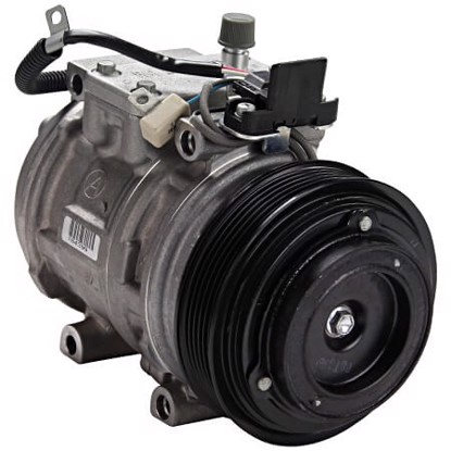 Picture of Denso 471-1228 New A/C Compressor with Clutch