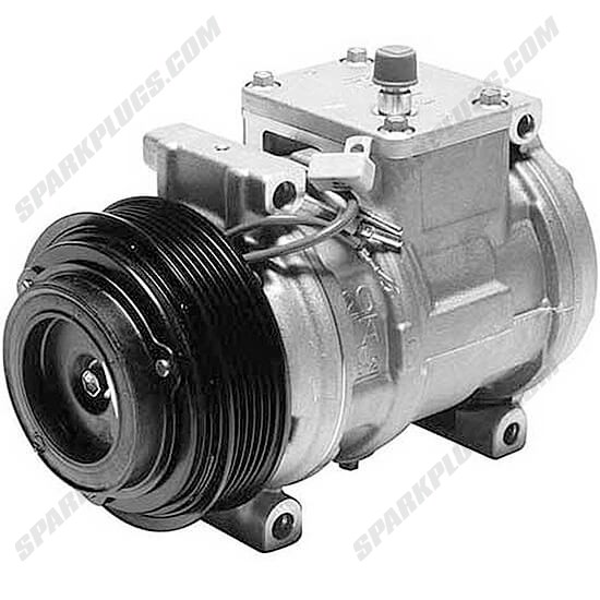 Picture of Denso 471-1230 New A/C Compressor with Clutch