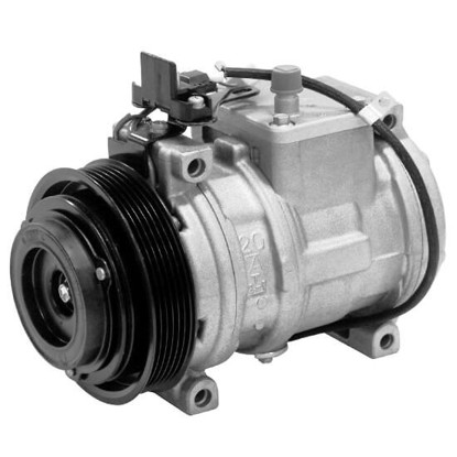Picture of Denso 471-1231 New A/C Compressor with Clutch