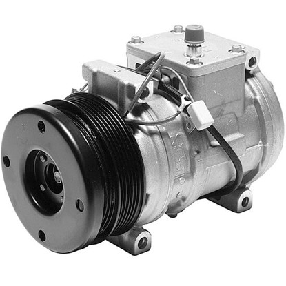 Picture of Denso 471-1234 New A/C Compressor with Clutch