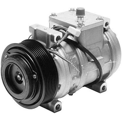 Picture of Denso 471-1235 New A/C Compressor with Clutch