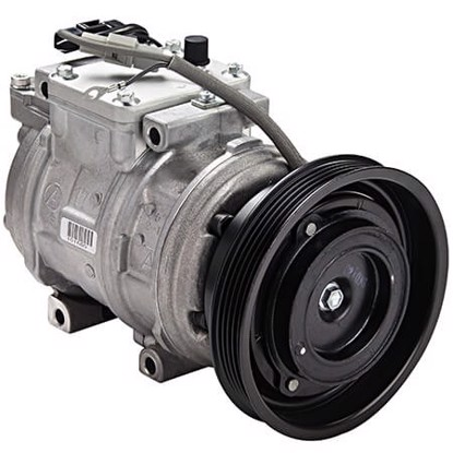 Picture of Denso 471-1238 New A/C Compressor with Clutch