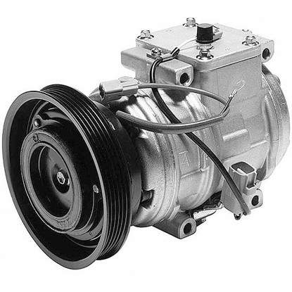 Picture of Denso 471-1239 New A/C Compressor with Clutch