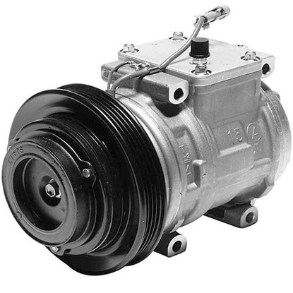 Picture of Denso 471-1241 New A/C Compressor with Clutch