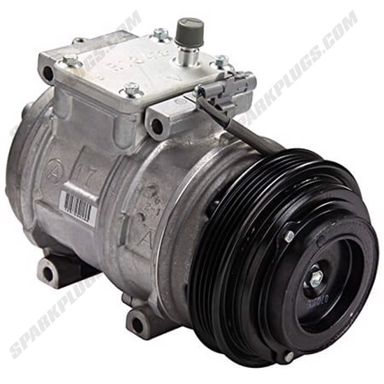 Picture of Denso 471-1242 New A/C Compressor with Clutch