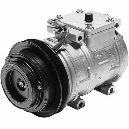 Picture of Denso 471-1244 New A/C Compressor with Clutch