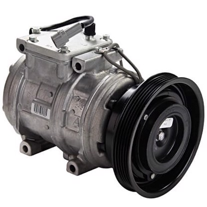 Picture of Denso 471-1246 New A/C Compressor with Clutch