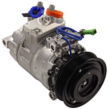 Picture of Denso 471-1260 New A/C Compressor with Clutch