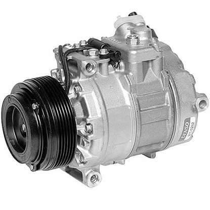 Picture of Denso 471-1262 New A/C Compressor with Clutch