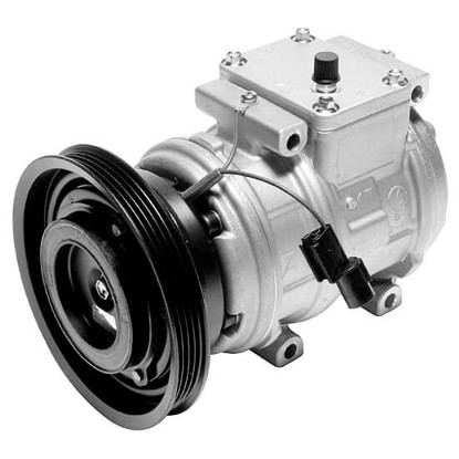 Picture of Denso 471-1274 New A/C Compressor with Clutch