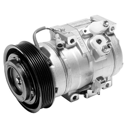 Picture of Denso 471-1282 New A/C Compressor with Clutch