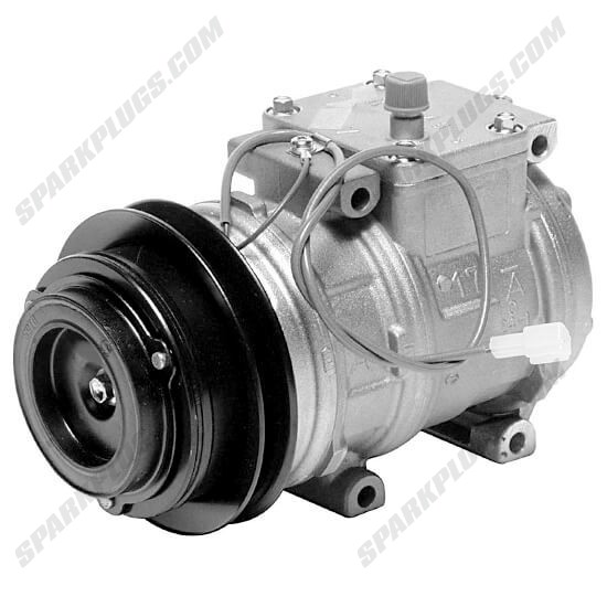 Picture of Denso 471-1286 New A/C Compressor with Clutch