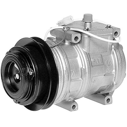 Picture of Denso 471-1287 New A/C Compressor with Clutch
