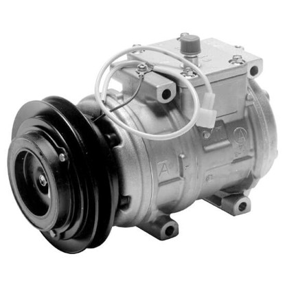 Picture of Denso 471-1288 New A/C Compressor with Clutch