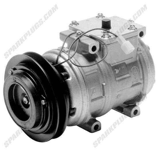 Picture of Denso 471-1290 New A/C Compressor with Clutch