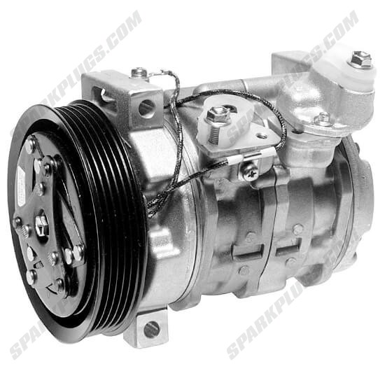 Picture of Denso 471-1295 New A/C Compressor with Clutch