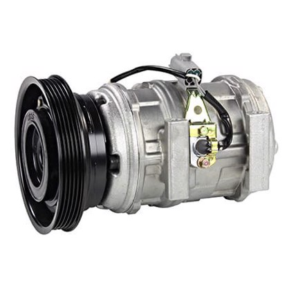 Picture of Denso 471-1297 New A/C Compressor with Clutch