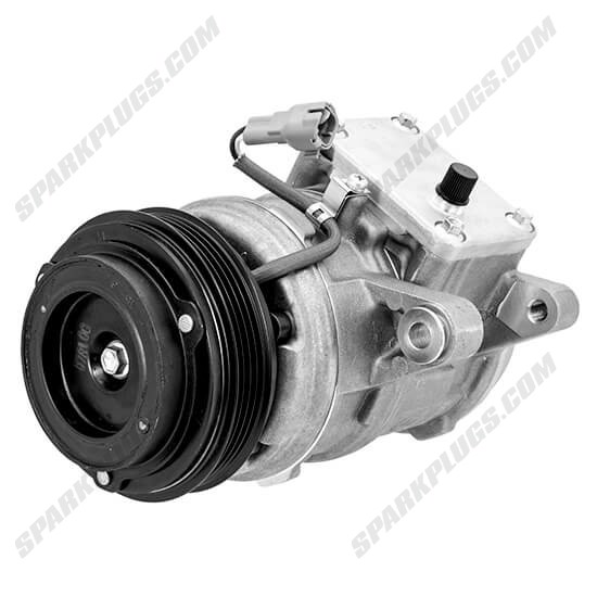 Picture of Denso 471-1301 New A/C Compressor with Clutch