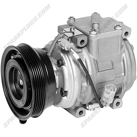 Picture of Denso 471-1302 New A/C Compressor with Clutch