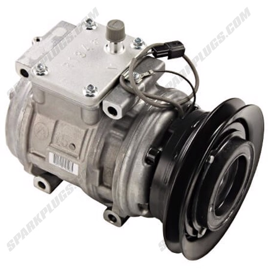 Picture of Denso 471-1306 New A/C Compressor with Clutch