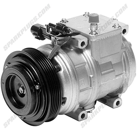 Picture of Denso 471-1308 New A/C Compressor with Clutch