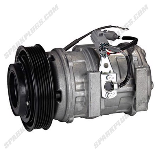 Picture of Denso 471-1312 New A/C Compressor with Clutch