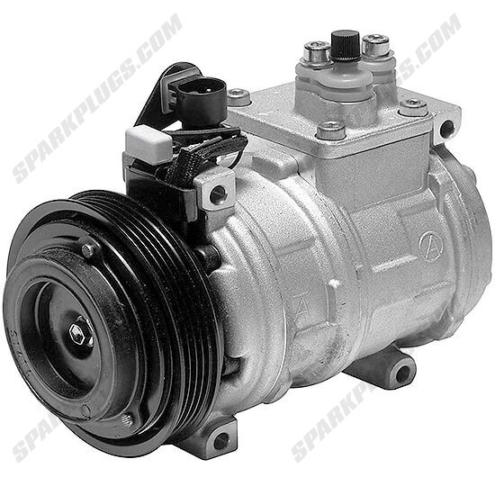 Picture of Denso 471-1313 New A/C Compressor with Clutch