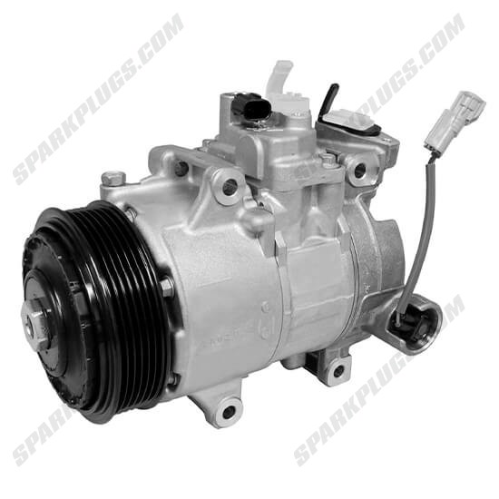 Picture of Denso 471-1314 New A/C Compressor with Clutch