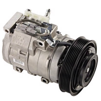 Picture of Denso 471-1342 New A/C Compressor with Clutch