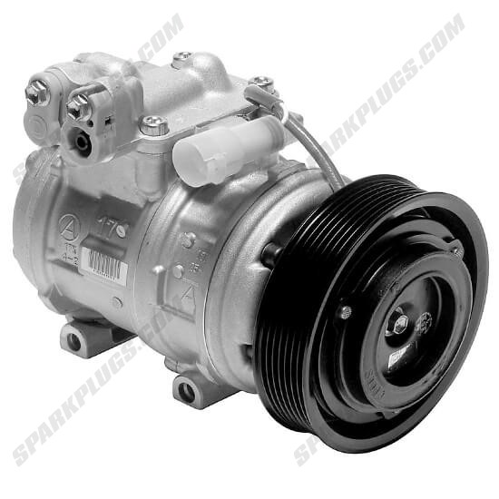 Picture of Denso 471-1348 New A/C Compressor with Clutch