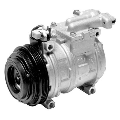 Picture of Denso 471-1349 New A/C Compressor with Clutch