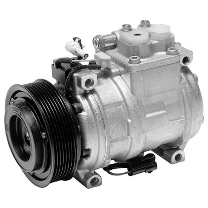 Picture of Denso 471-1350 New A/C Compressor with Clutch