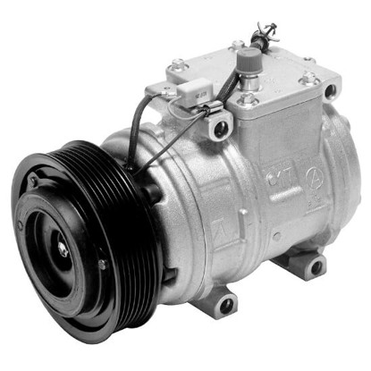 Picture of Denso 471-1358 New A/C Compressor with Clutch