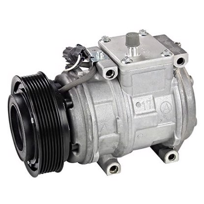 Picture of Denso 471-1360 New A/C Compressor with Clutch