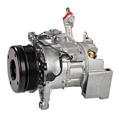 Picture of Denso 471-1361 New A/C Compressor with Clutch